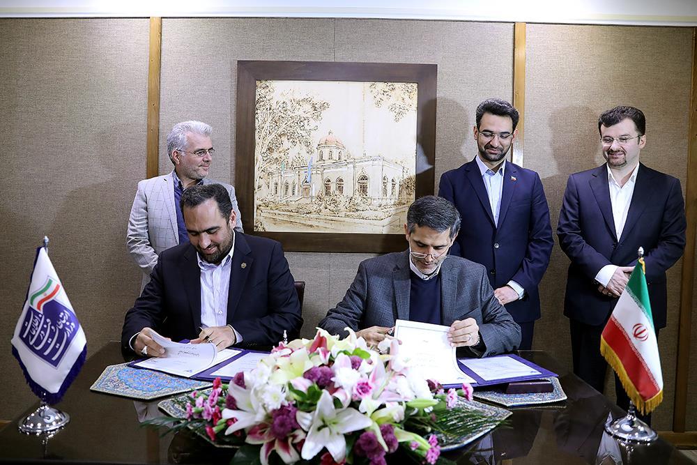 امضای تفاهمنامه بین همراه اول و راه آهن