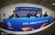نشست خبری سرمربی تیم ملی فوتبال پیش از دیدار با ژاپن