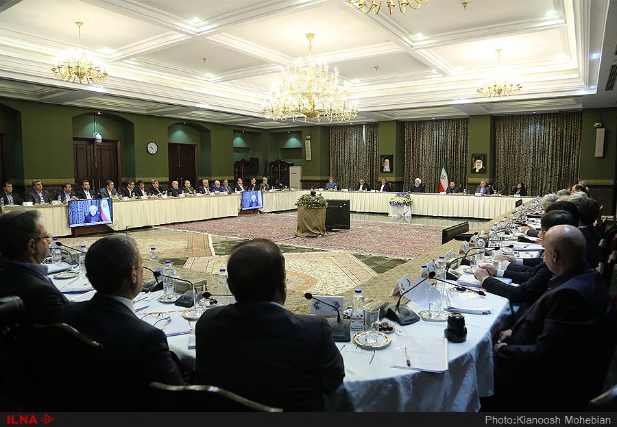 نشست مشترک هیات وزیران با استانداران سراسر کشور