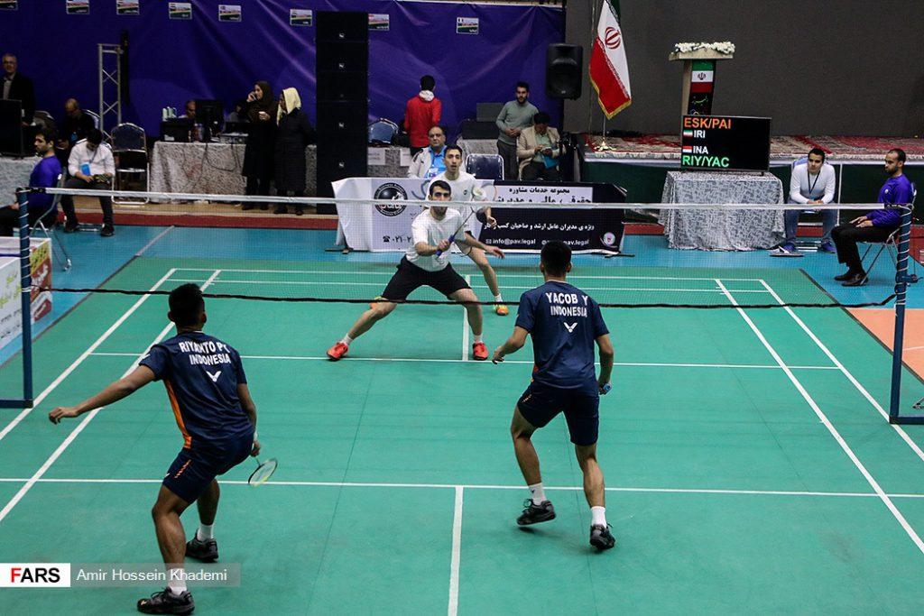 مسابقات بین المللی بدمینتون در استان البرز