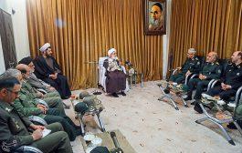 دیدار رئیس ستاد کل نیروهای مسلح کشور با علما و مراجع