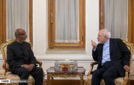 دیدار سفیر جدید هند با وزیر امورخارجه