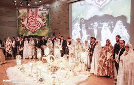 جشن میلاد کوثر با تجلیل از ۱۰۰ زوج بسیجی در تبریز