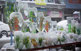 هوای برفی شهرکرد در آستانه نوروز