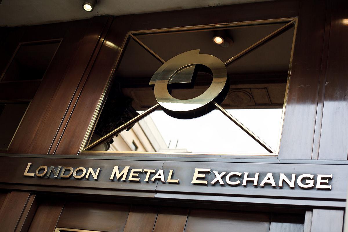 روند کاهشی در بورس فلزات لندن