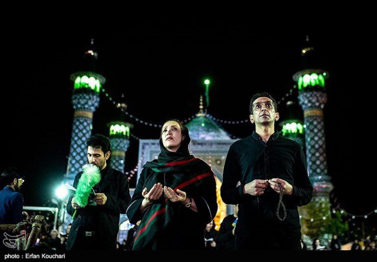 مراسم احیای شب نوزدهم ماه رمضان - امامزاده پنج تن