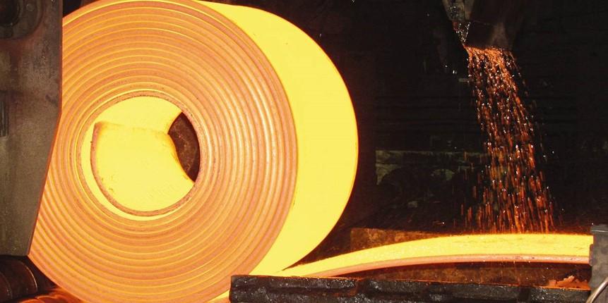 عرضه بیش از ۱۲۰ هزار تنی ورق گرم «فولاد» در بورس کالا طی ۲۰ روز ابتدایی ۱۴۰۰