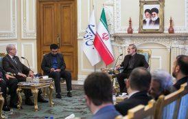 دیدار نائب رئیس مجلس نمایندگان عراق با علی لاریجانی