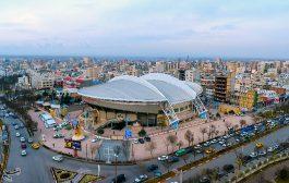 آماده سازی استادیوم برای لیگ ملتهای والیبال جهان