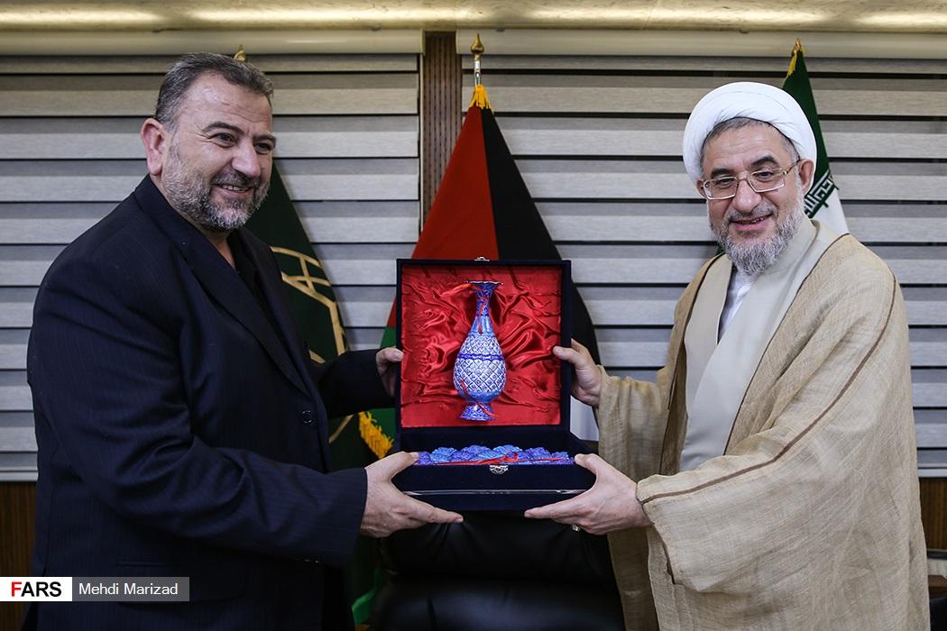 دیدار نایب رئیس دفتر سیاسی جنبش حماس با دبیر کل مجمع جهانی تقریب مذاهب اسلامی