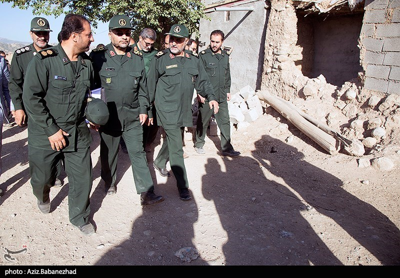 بازدید رئیس سازمان بسیج مستضعفین از مناطق سیل زده لرستان