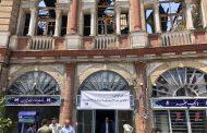 بیمه سرمد در جبران خسارات آتشسوزی میدان حسن آباد پیش قدم شد