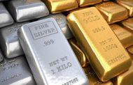 بهای فلزات گران قیمت طلا، نقره و مس در بازارهای جهانی