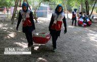 هفتمین دوره المپیاد مهارت های امدادی هلال احمر در بخش دختران