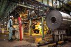 عبور تولید شمش فولادی از سطح ۱۱/۹ میلیون تن