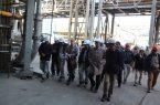 بازدید مدیرعامل شرکت مس از طرح توسعه ذوب و اسیدسولفوریک خاتونآباد