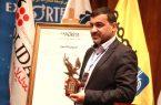 فولاد خوزستان نشان عقاب طلایی را دریافت کرد
