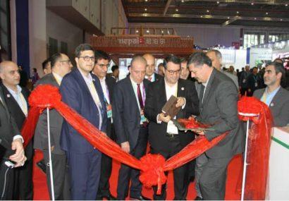 وزیر صنعت پاویون ایران در شانگهای را افتتاح کرد