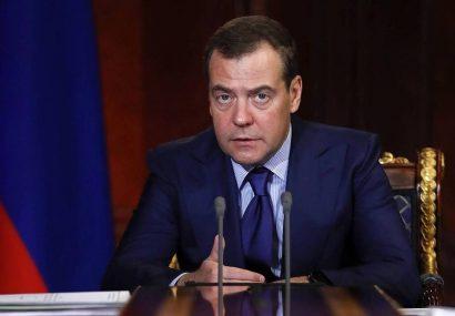 دولت روسیه استعفا داد