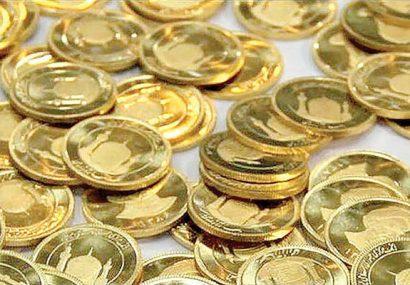 قیمت سکه اندکی افزایش یافت