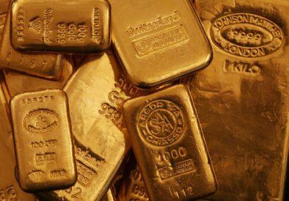 افزایش بیش از ۲۲ دلاری قیمت جهانی انس طلا