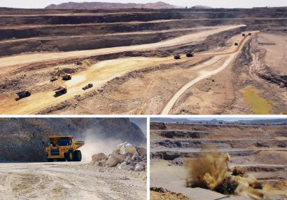 تولید حدود ۱.۲ میلیون تن سنگ آهن در شرکت صنایع و معادن ماهان سیرجان