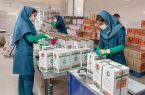 بنیاد مستضعفان ۴ میلیون سبد غذایی میان مادران باردار مناطق محروم توزیع کرد