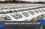 کاهش ۲۵ درصدی قیمت خودرو با افزایش محدویت های کرونایی