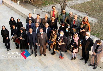 آئین اختتامیه اولین مسابقه تصویرگری در صنعت بیمه برگزار شد
