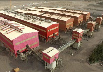 رکورد های جدید درچادرملو  تولید کنسانتره از مرز۱۰ میلیون و ۵۶۹ هزارتن عبور کرد