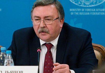 اولیانوف: توقف برجام به دلیل فشارهای آمریکا موجب نگرانی است