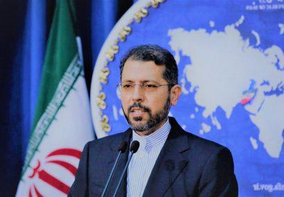 خطیبزاده: جزایر سه گانه ابوموسی، تنب کوچک و تنب بزرگ تعلق قطعی به ایران داشته و دارد